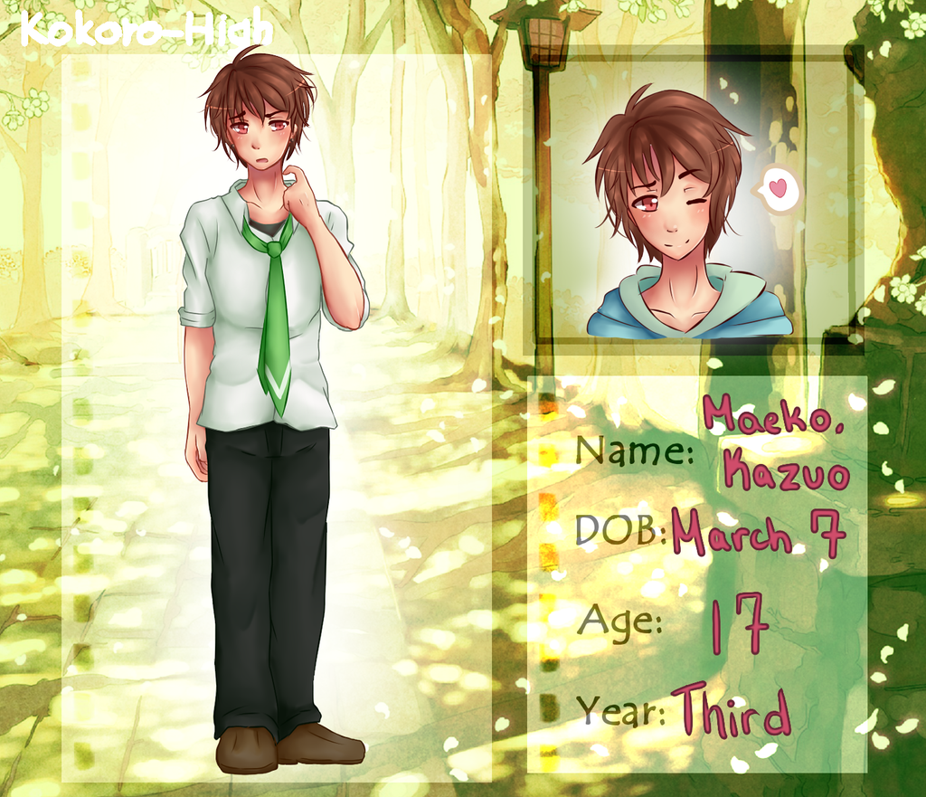 KH: Kazuo Maeko by UsagiMomo-Chan