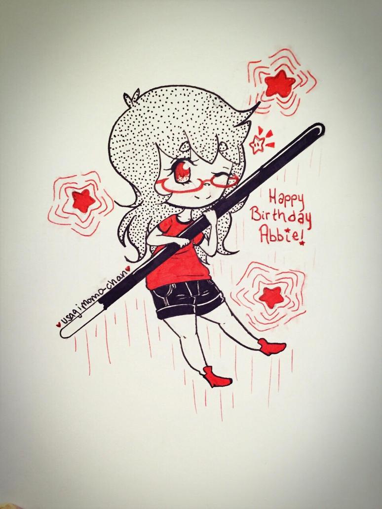 A Very Pocky Birthday~ by UsagiMomo-Chan