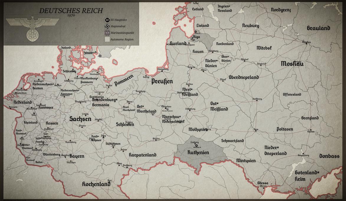 Deutsches Reich 1970: A dark timeline by Jockehh