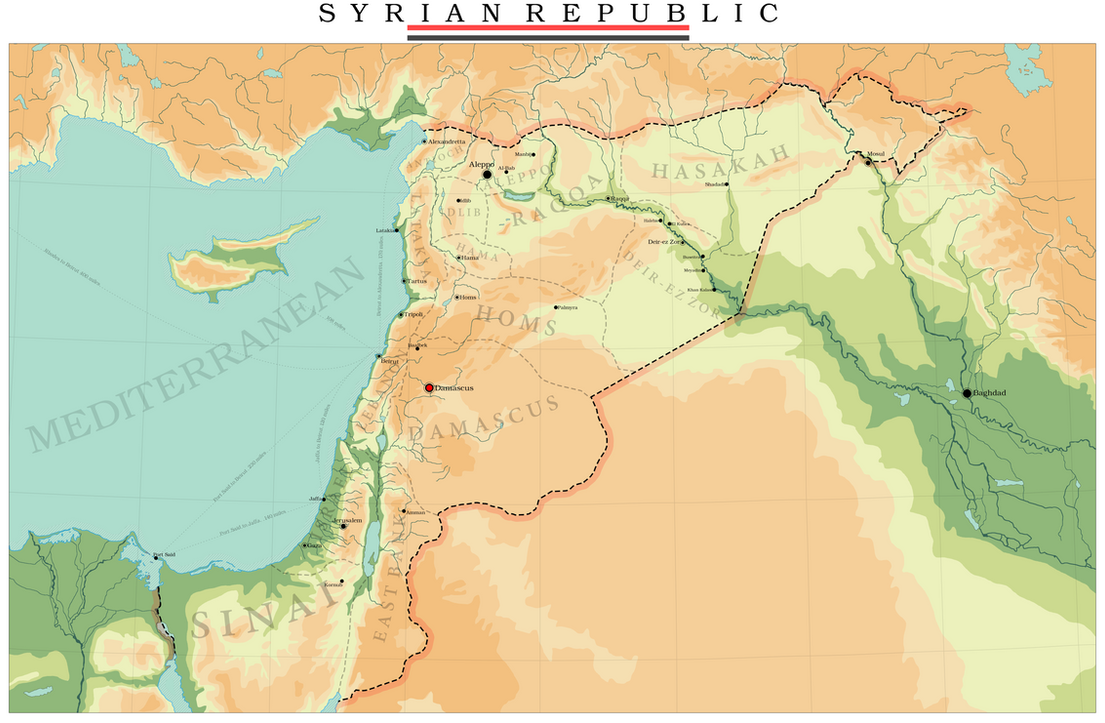 Greater Syria by Jockehh