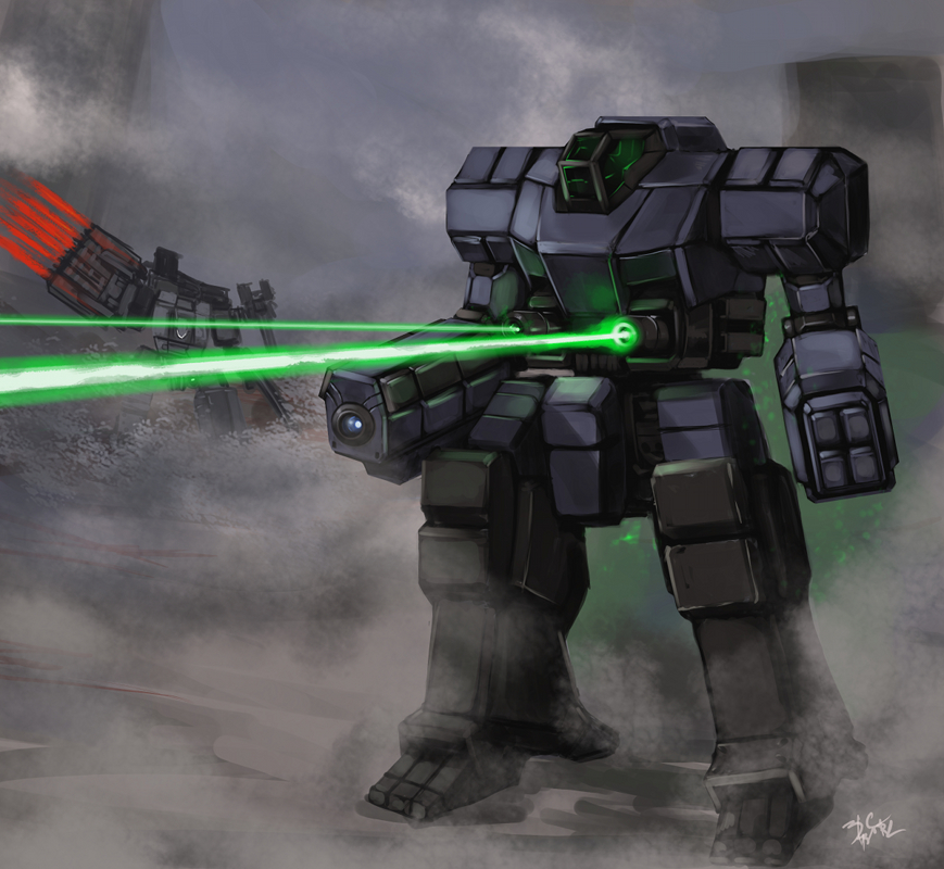 Heavy Duty Lasers by BlazingChaos