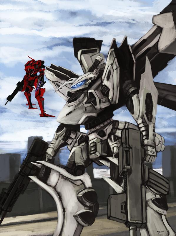 Defend Line Ark by BlazingChaos