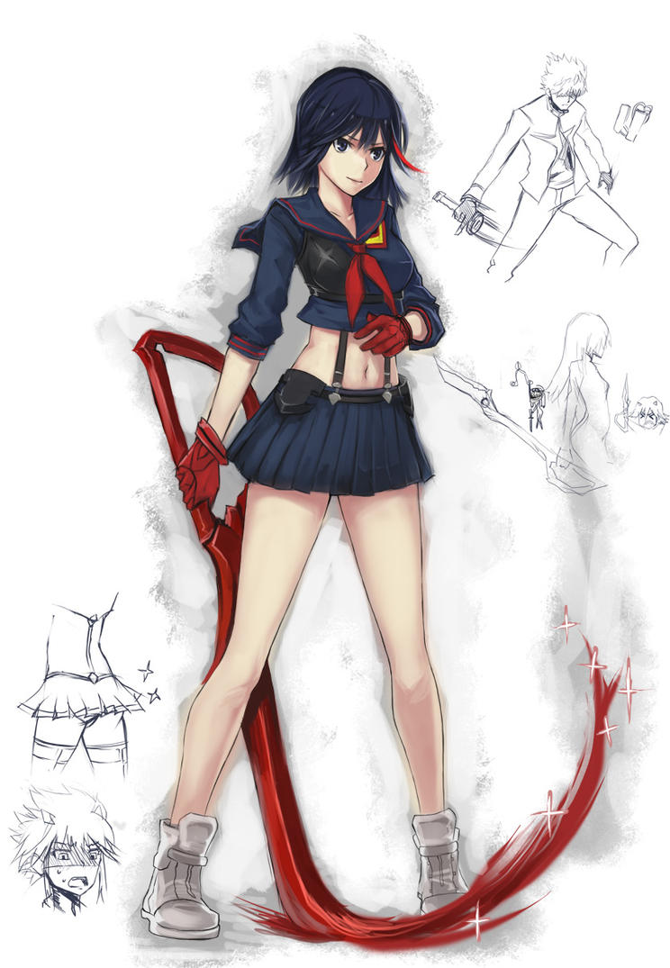 kill la kill by BlazingChaos