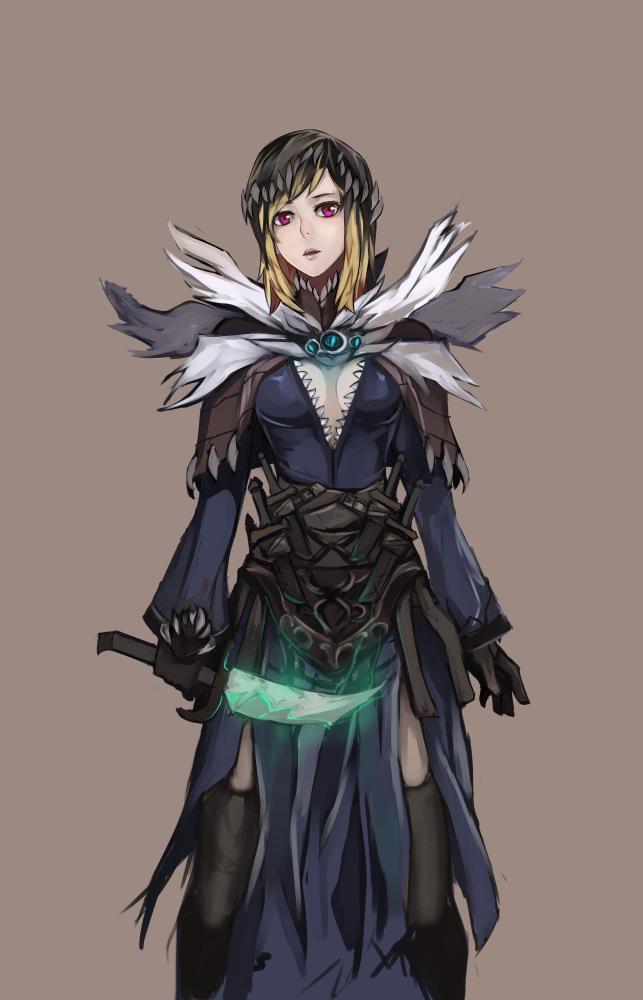 Dagger Wizard by BlazingChaos