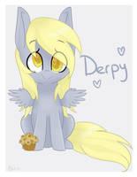 Tiny Derpy by Blossom-Wish