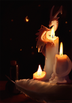 Candle Guardian by blacksapphiredragon