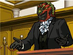 Ace Prosecutor Ganondorf by SebzB