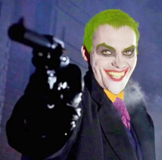 Hugo Blick as The Joker by HARLEYMK