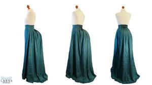 For SALE - Bustle skirt Back by Larva