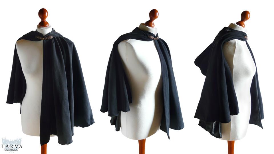 Black Riding Hood Front by Larva by Eisfluegel
