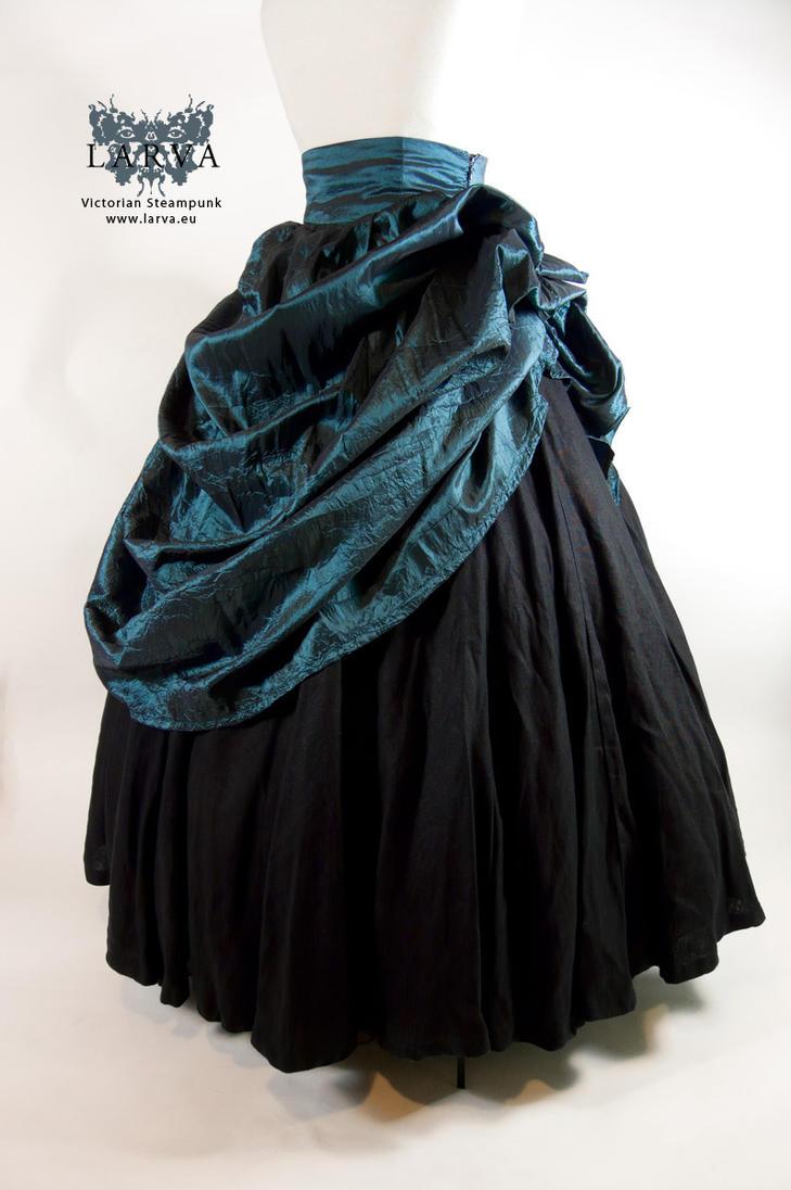 Elizabethan Skirt and Overskirt by Eisfluegel