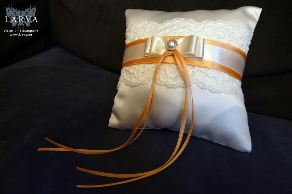 Wedding Pillow by Eisfluegel