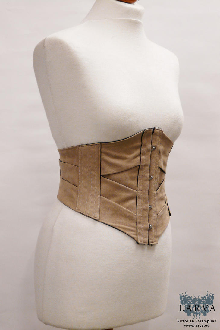 Heliconius charithonia - Ribbon corset by Eisfluegel