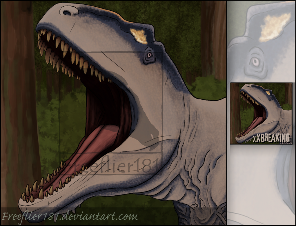 Giganotosaurus Icon for xXBreaking by Freeflier181