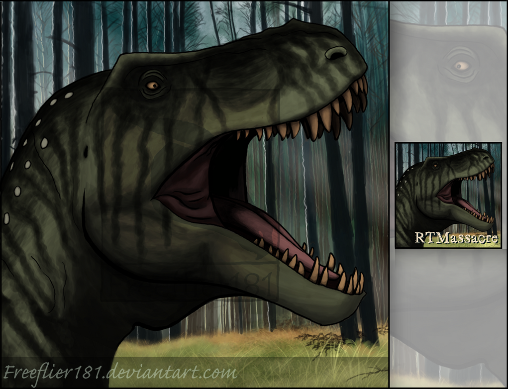 Tyrannosaurus Rex Avatar for RTMassacre by Freeflier181