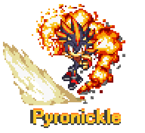 Elemental Contest Entry _Flame Pyronickle by UberHawg