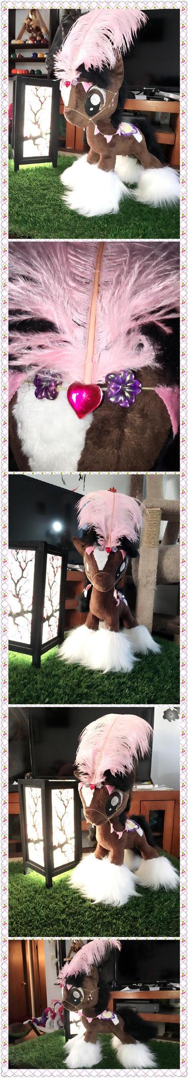 Pony plush (for sale) by KlTTEN-KANDY