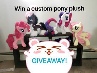 Mlp pony plushy giveaway! by KlTTEN-KANDY