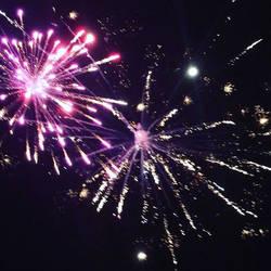 Fireworks  by KlTTEN-KANDY