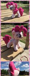 Pinkie pie plush (for sale) by KlTTEN-KANDY