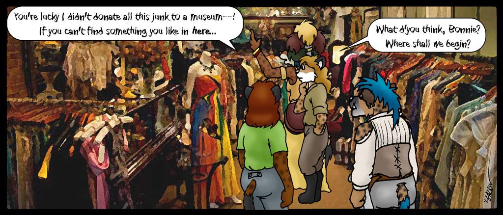 07/20b: Into Granny's Closet by KDNightstar