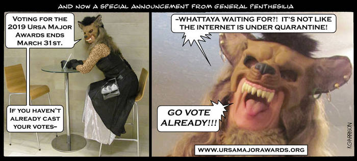 UMA 2019 Get Out The Vote!