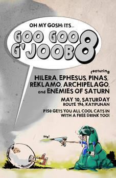 GooGooGjob gig poster