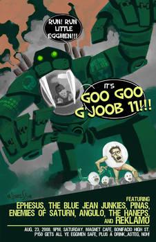 googoogjoob 11 gig poster