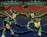 INFESTATION 2 TMNT covers