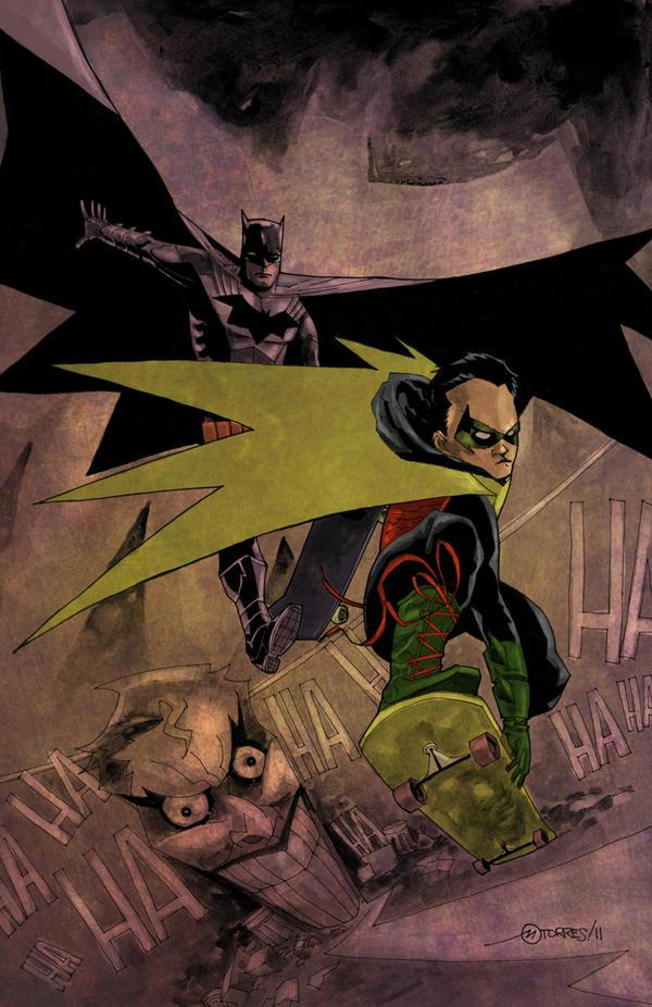 DCnU Batman-Robin by mytymark