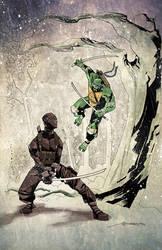 SnakeEyes vs Leonardo by mytymark