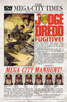 IDW JUDGE DREDD 25 Regular Edition Cover