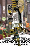 IDW JUDGE DREDD #28 Cover