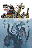 IDW ZvR 5 SUB Cover by mytymark