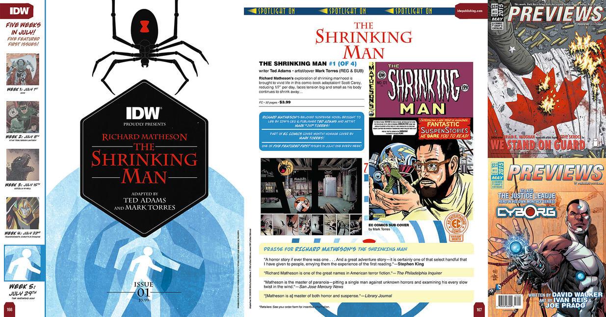 IDW SHRINKING MAN #1 by mytymark