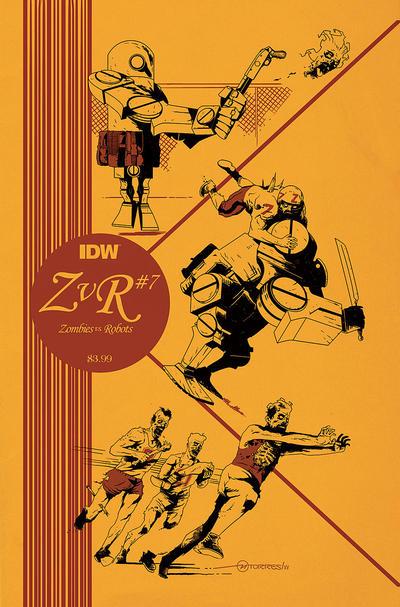 IDW Zombies vs. Robots 7 - regular edition by mytymark