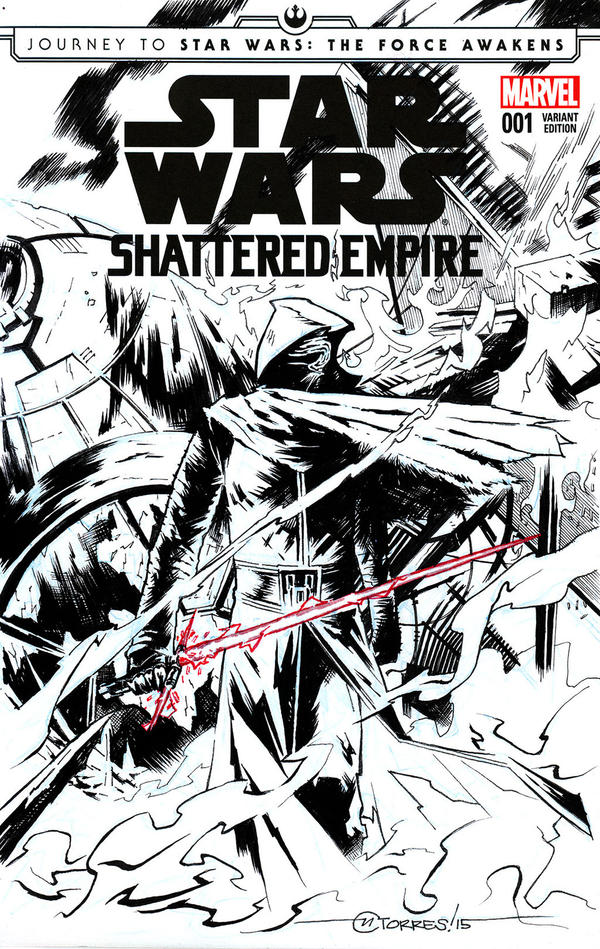 STAR WARS: SHATTERED EMPIRE #1 (Blank cover) by mytymark