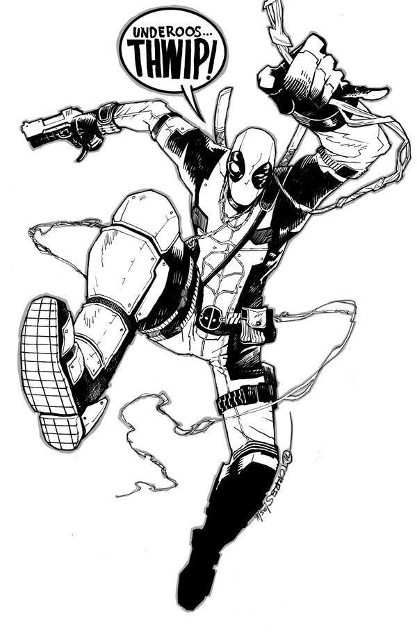 Deadpool by mytymark
