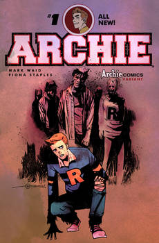 Afterlife with Archie sketch cover
