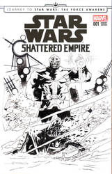 Star Wars: Shattered Empire Sketch Cover