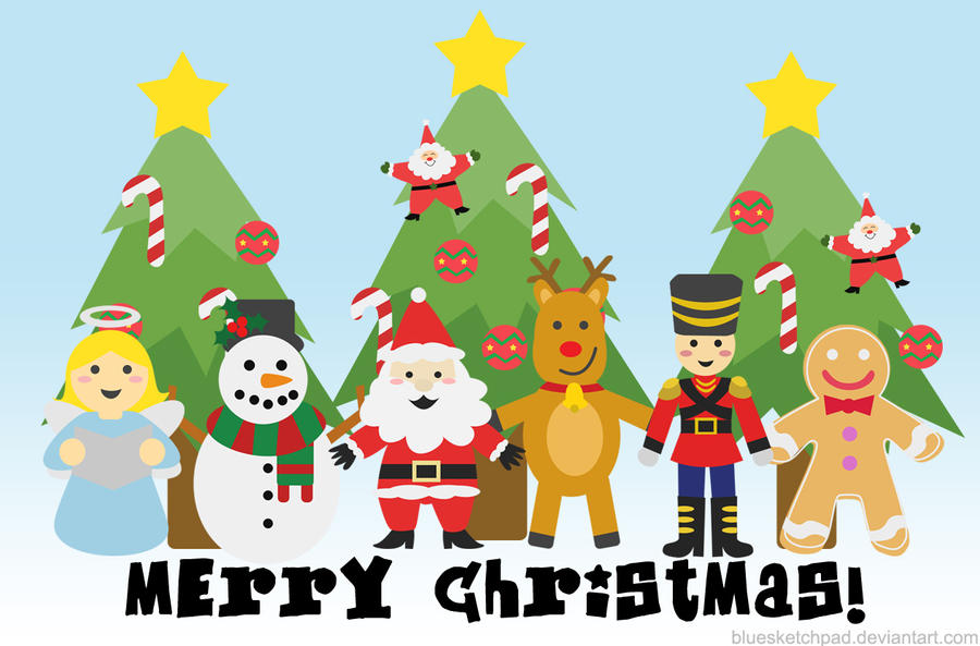 Image result for christmas characters