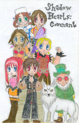Shadow Hearts: Covenant by bluesketchpad