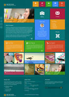 Metro HTML5 WordPress Theme by wpthemes