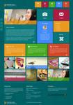 Metro HTML5 WordPress Theme
