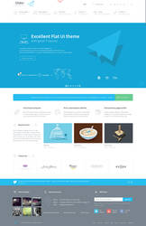 Glider - Clean, Flat WP Theme by wpthemes