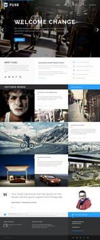 Fuse Portfolio Blog Theme