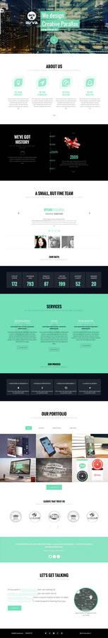BIRVA - Creative One Page Theme