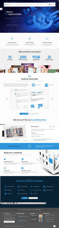 BeTheme - All in WP Template