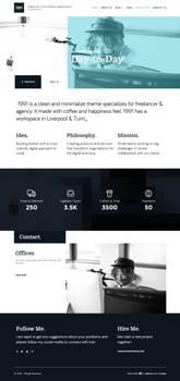 1991 CreAtive WordPress site
