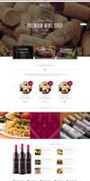 Wine - Restaurant WordPress Shop
